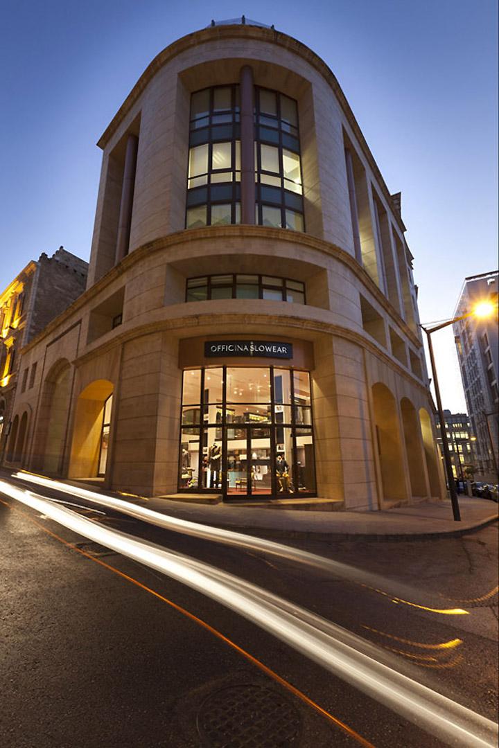 Officina Slowear Store By Carlo Donati Beirut