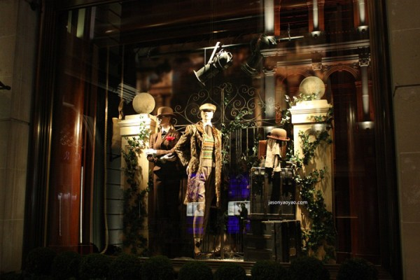 187 Ralph Lauren windows at Bond Street London