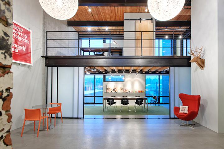 Turnstyle Office By Graham Baba Architects Seattle Washington
