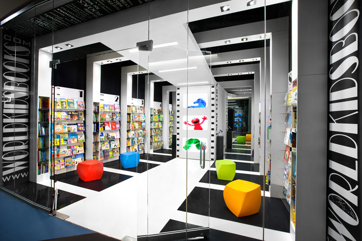 World Kids Books store by Red Box ID  Vancouver     Canada World Kids Books is a great example of how a business idea can be enhanced  through interior design