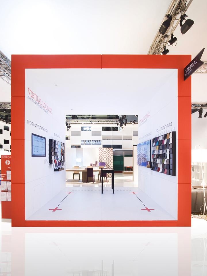 Calligaris stand Salone Del Mobile 2013 Nascent Design Milan 06 Calligaris stand at Salone Del Mobile 2013 by Nascent Design, Milan