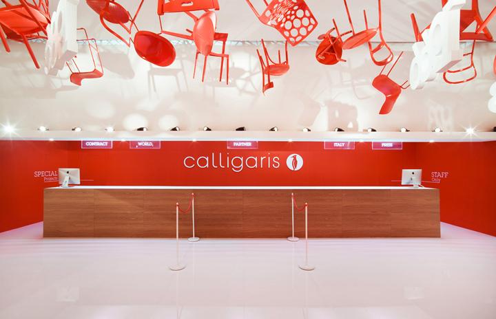 Calligaris stand Salone Del Mobile 2013 Nascent Design Milan 09 Calligaris stand at Salone Del Mobile 2013 by Nascent Design, Milan