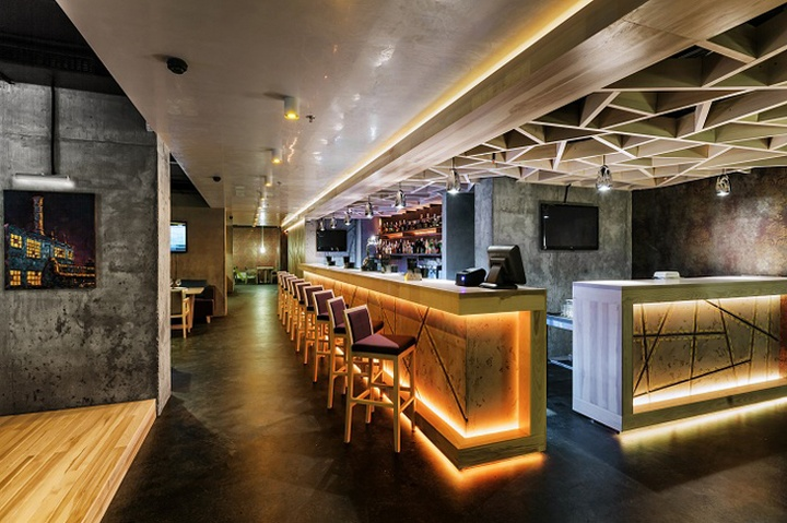 Concrete bar restaurant by Yunakov Studio Kiev Ukraine 22 Concrete bar & restaurant by Yunakov Studio, Kiev   Ukraine