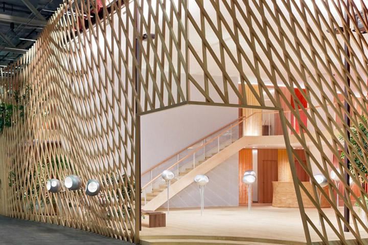 Hermes La Montre pavilon by Toyo Ito Basel Switzerland 06 Hermès La Montre pavilon by Toyo Ito, Basel   Switzerland
