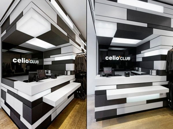 187 CelioCLUB flagship store by CostaImaginering Paris