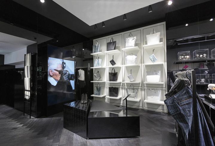 Karl Lagerfeld Store Amsterdam Retail Design Blog
