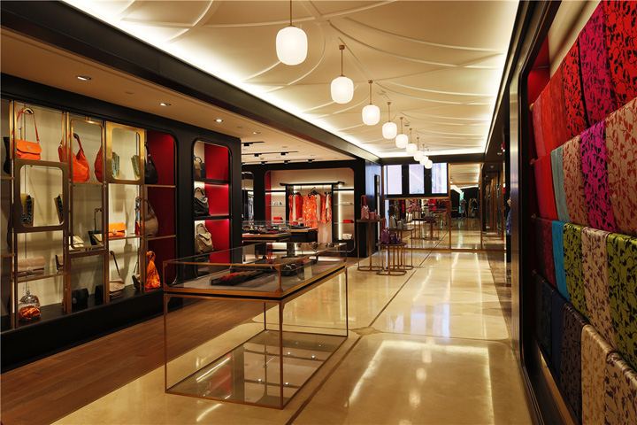 Shanghai Tang Cathay Mansion flagship store by Design MVW Shanghai China 02 Shanghai Tang Cathay Mansion flagship store by Design MVW, Shanghai   China
