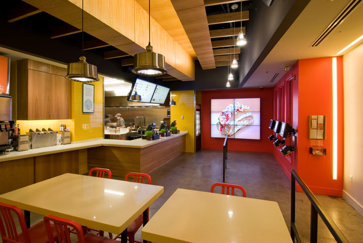 Be Right Burger Restaurant By Core Architecture