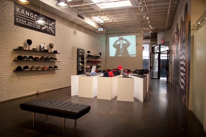 Kangol Pop Up Shop New York City