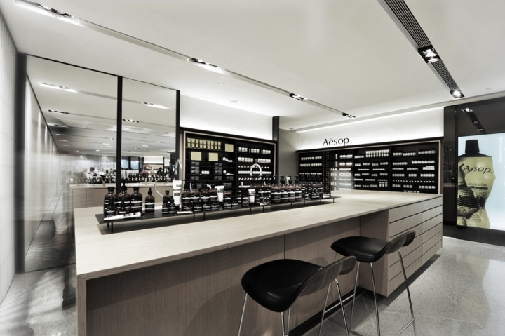 Aesop LAB Concept By Cheungvogl Architects Hong Kong