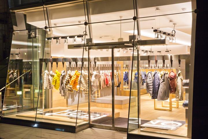 Herno Stores Seoul Tokyo