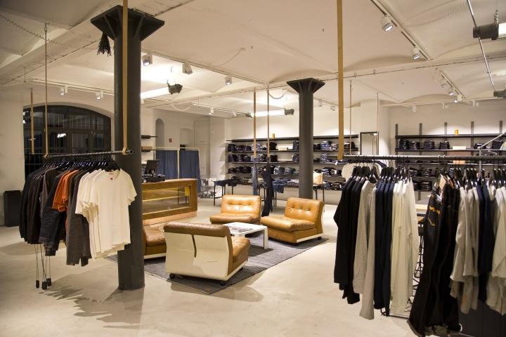 Nudie Jeans Repair Shop Berlin Germany