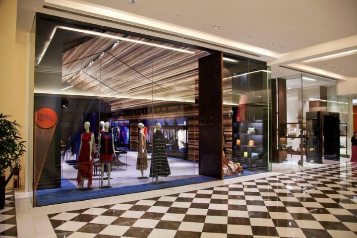 Neel Sutra India Fashion Store By Architecture Discipline