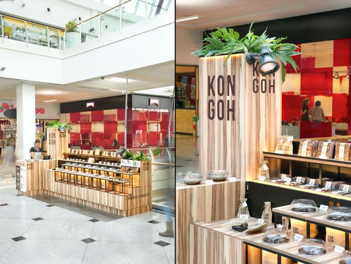 Kongoh Popup store by Egue y Seta BarcelonaSpain 03 Kongoh Pop up store and branding by Egue y Seta, Barcelona Spain