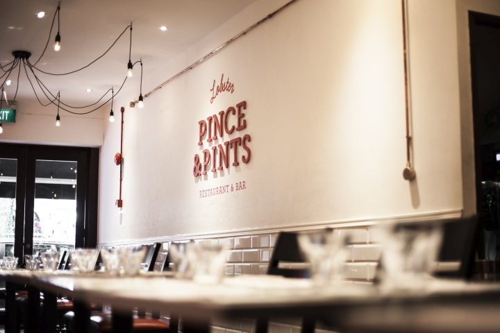 Pince Pints restaurant branding by Bravo Singapore Pince & Pints restaurant branding by Bravo Company, Singapore
