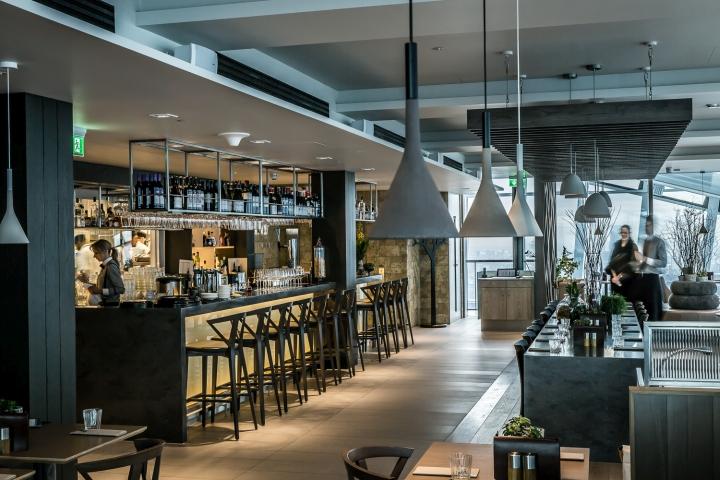 Restaurant Cafe De Sky Garden