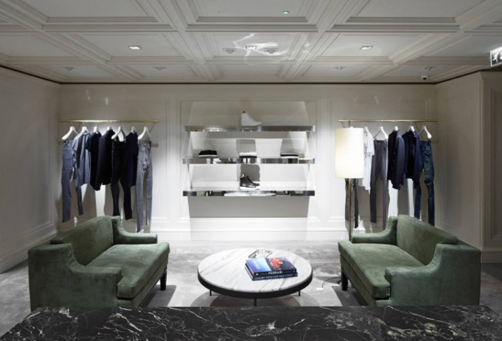 Balmain Store By Joseph Dirand London UK