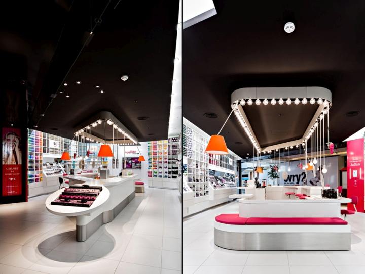 Les Bellista By Nocib Store By Rev Architecture Paris
