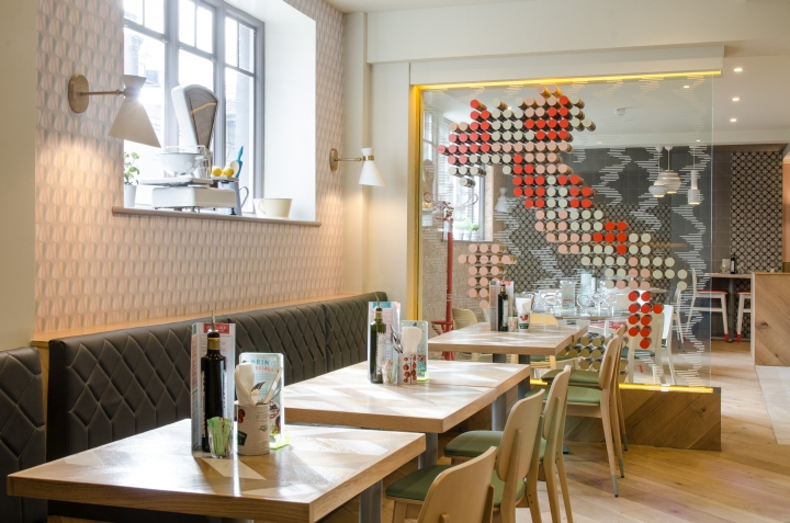ASK Italian Restaurant by turnerbates Design   Architecture     ASK Italian Maidstone