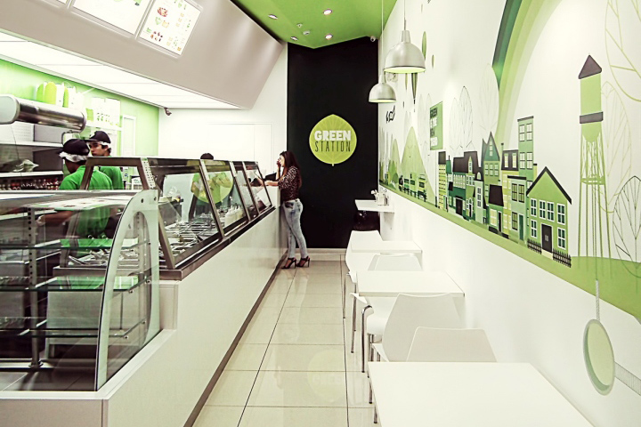 Interior Design Concepts For Small Fast Food Restaurant