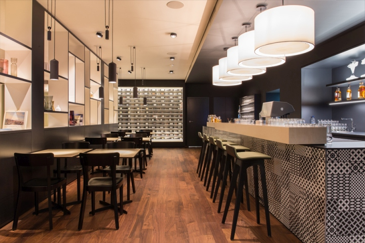 Brasserie L    wen Restaurant by Barmade Interior Design  Zug     Switzerland      Brasserie L    wen Restaurant by Barmade Interior Design  Zug     Switzerland