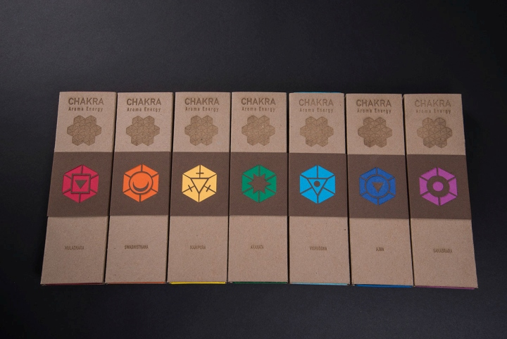 187 Chakra Incense Packaging By Zach Pater