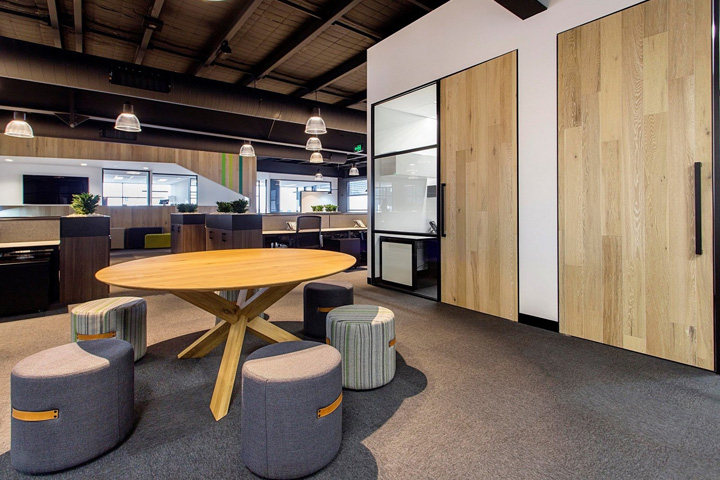 , Cameron Industrial Offices by A1 Office, Melbourne – Australia, Office Furniture Dubai | Office Furniture Company | Office Furniture Abu Dhabi | Office Workstations | Office Partitions | SAGTCO