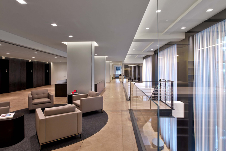 , TPG Architecture Offices, New York City, Office Furniture Dubai | Office Furniture Company | Office Furniture Abu Dhabi | Office Workstations | Office Partitions | SAGTCO