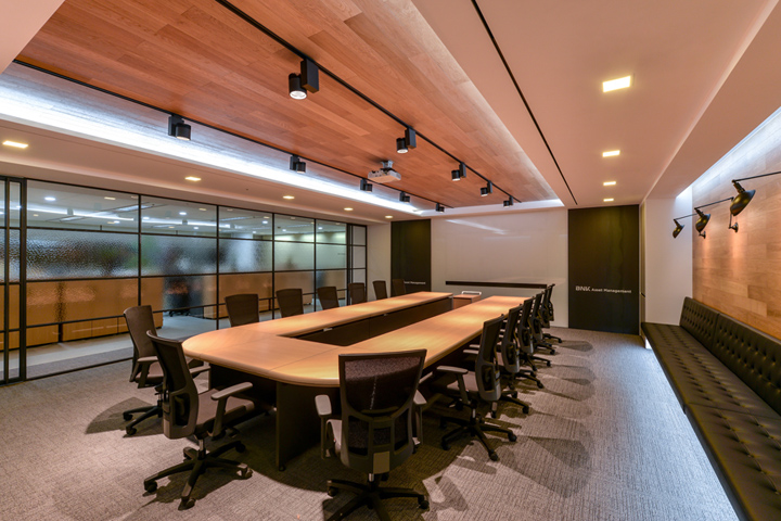 , BNK Asset Management Office by D&A partners, Seoul – South Korea, SAGTCO Office Furniture Dubai & Interactive Systems