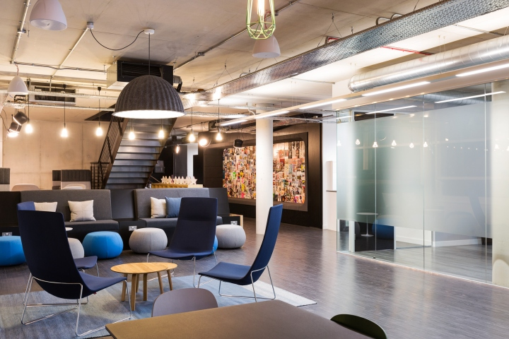 , John Brown Media office by ThirdWay Interiors, London – UK, Office Furniture Dubai   Office Furniture Company   Office Furniture Abu Dhabi   Office Workstations   Office Partitions   SAGTCO