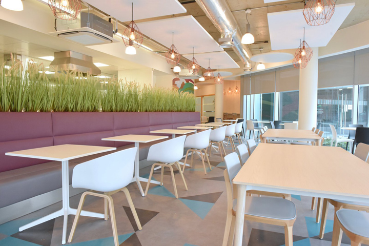 , CarTrawler canteen by The Building Consultancy, Dublin – Ireland, Office Furniture Dubai | Office Furniture Company | Office Furniture Abu Dhabi | Office Workstations | Office Partitions | SAGTCO
