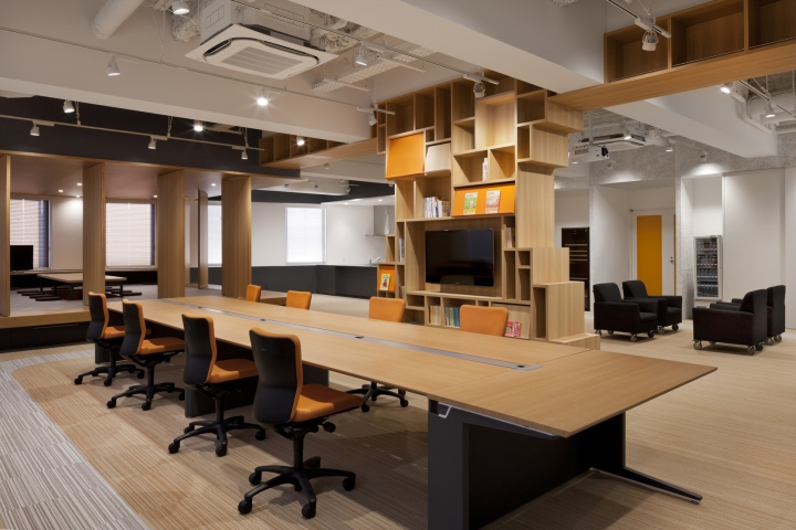 , Kobunshoin publishing office by GRIP&Co, Tokyo – Japan, Office Furniture Dubai   Office Furniture Company   Office Furniture Abu Dhabi   Office Workstations   Office Partitions   SAGTCO