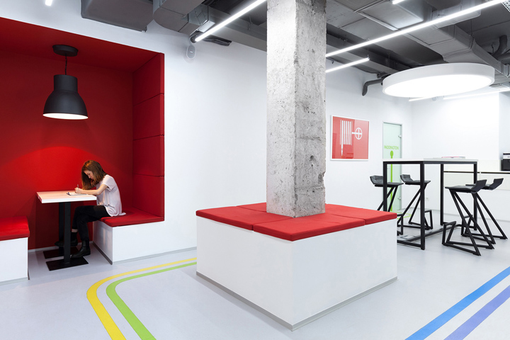 , Underhub language school and coworking space by Emil Dervish Architect, Kiev – Ukraine, Office Furniture Dubai | Office Furniture Company | Office Furniture Abu Dhabi | Office Workstations | Office Partitions | SAGTCO