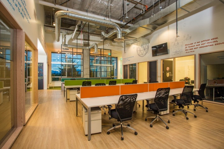 , Spacekraft Coworking office by Evoke International Design, Burnaby – Canada, Office Furniture Dubai | Office Furniture Company | Office Furniture Abu Dhabi | Office Workstations | Office Partitions | SAGTCO