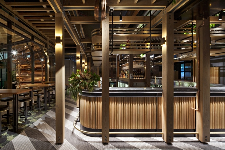 Garden State Hotel by Techne Architecture   Interior Design     The Flinders Lane Pub is a completely new pub built on the south side  Flinders Lane  opposite to the entrance to the 101 Collins St office tower