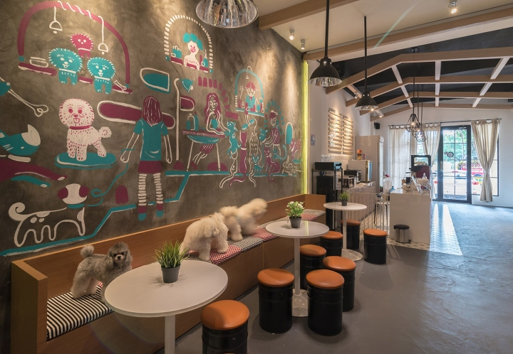The Barkbershop Pet Grooming Studio Amp Cafe By Evonil