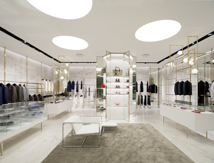 Closet Store By Meregalli Merlo Architetti Associati Singapore