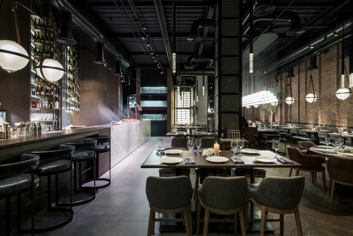 CATCH Fish Restaurant By YoDezeen Studio Kiev Ukraine Retail Design Blog
