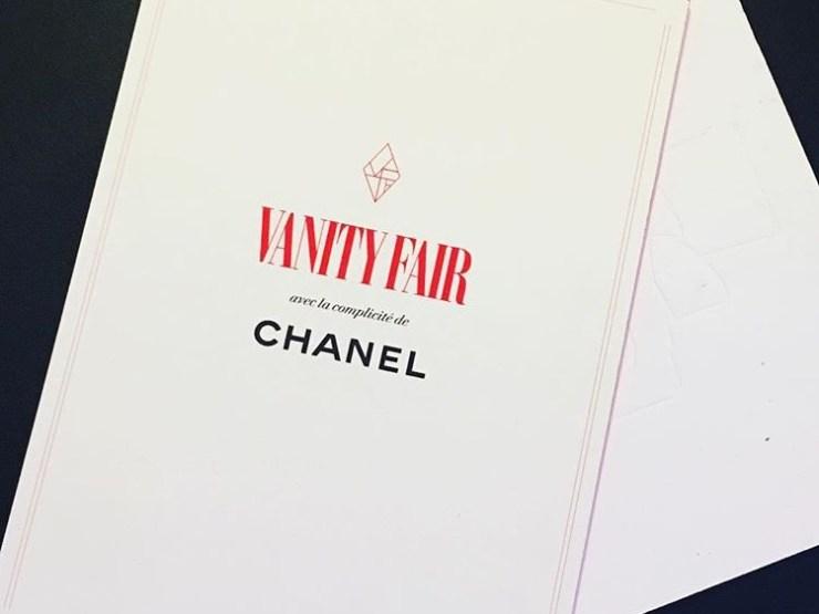 Vanity Fair x Chanel chez Tétou