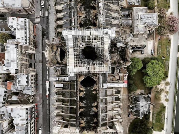 Retail In soutient Notre Dame