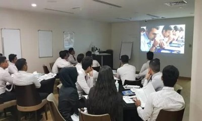 Sales Associates of Malabar Gold and Diamonds during one of the trainings