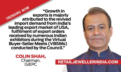 Gems & Jewellery exports record a 8.46% growth