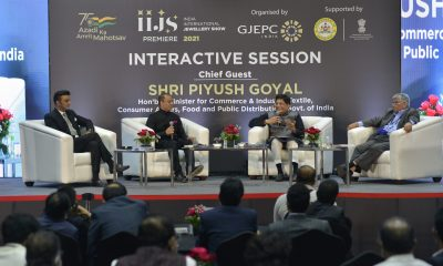 Commerce Minister Piyush Goyal hosted interactive session with leading manufacturers at the IIJS Premiere 2021