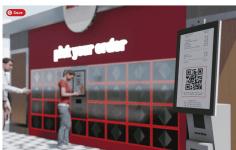 pickup ordering kiosk