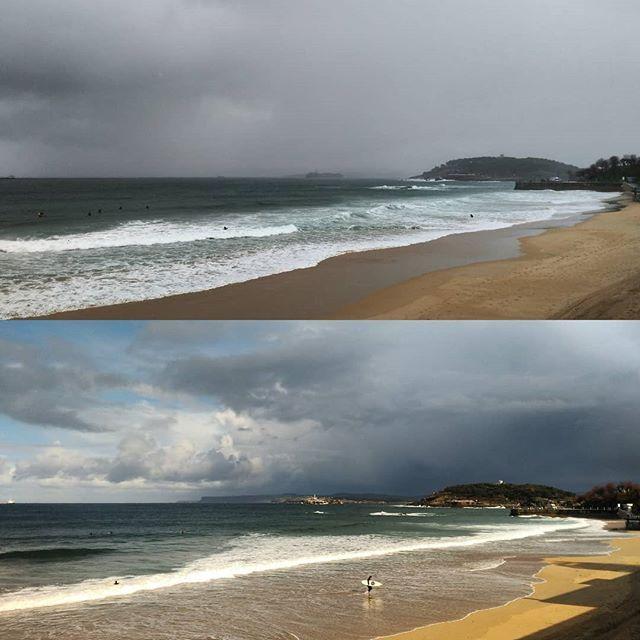 Antes y después. Así es Santander