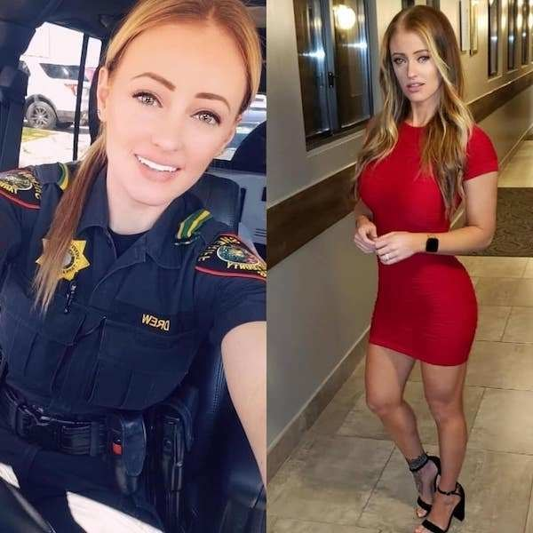 Delightful Women In Uniform