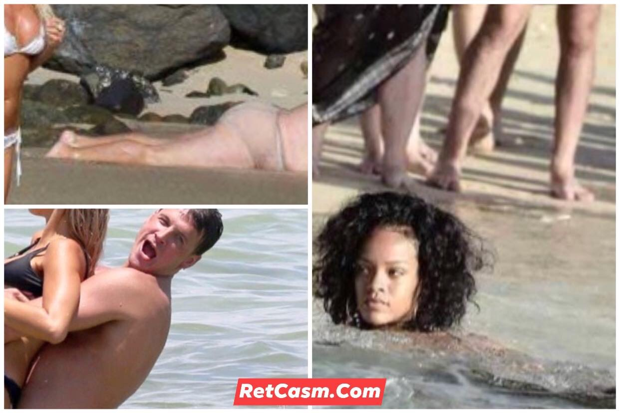 20 Most Interesting Celebs Beach Photographs