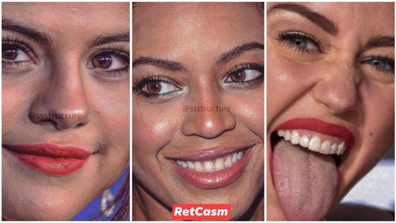 Very Closeup of Celebrity Faces Without Photoshop (30 Shocking Photos)
