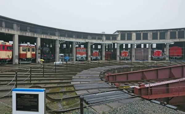 津山、津山まなびの鉄道館、転車台