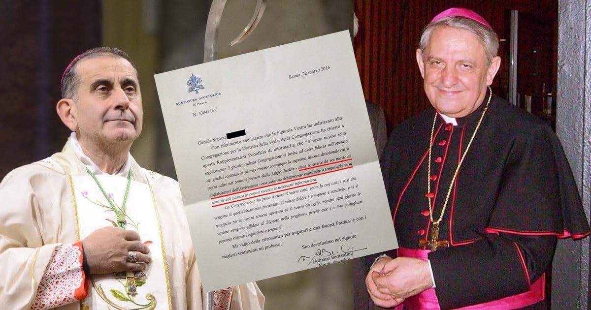 L'Arcivescovo di Milano mons. Delpini ha coperto un caso di Pedofilia: nuove testimonianze e il cerchio si stringe.